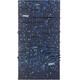 P.A.C. UV Protector + - Foulard - bleu/noir